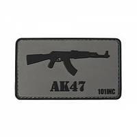 Патч 3D PVC AK47 Gray