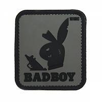 Патч 3D PVC Badboy Gray