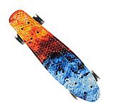 Скейт пенниборд скейтборд колёса PU СВЕТЯЩИЕСЯ Penny Board, фото 4