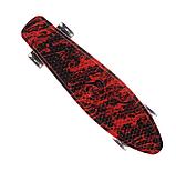 Скейт пенниборд скейтборд колёса PU СВЕТЯЩИЕСЯ Penny Board, фото 5