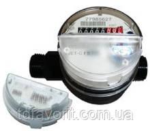 Лічильники холодної води квартирний SENSUS Residia-Jet З QN 1,5/30 Ду15