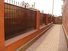 Забор из поликарбоната, фото 2