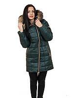 Длинная женская куртка Наоми с мехом (зимняя)