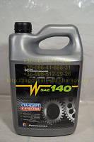 Трансмиссионное масло Нигрол GL-1 SAE 140 3,8л, фото 1