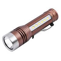 Мощный фонарь карманных размеров Small Sun: два типа освещения, разъём для зарядки устройств
