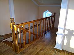 Перила деревянные, фото 2
