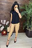 Женские красивая блузка без рукавов с кружевом, фото 4