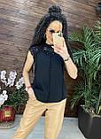 Женские красивая блузка без рукавов с кружевом, фото 6
