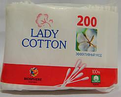 Ватно-гигиеническая Ушные палочки Lady Cotton