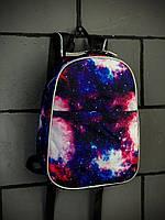 Рюкзак унісекс принт Космос міні. Міський космос синій mini.