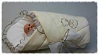 Конверт-одеяло на выписку  БАЛУ (зима)
