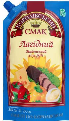 """Майонез ТМ """" Королівський Смак 30% 300 грам"""