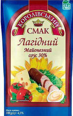 """Майонез ТМ """" Королівський Смак 30% 160 грам"""