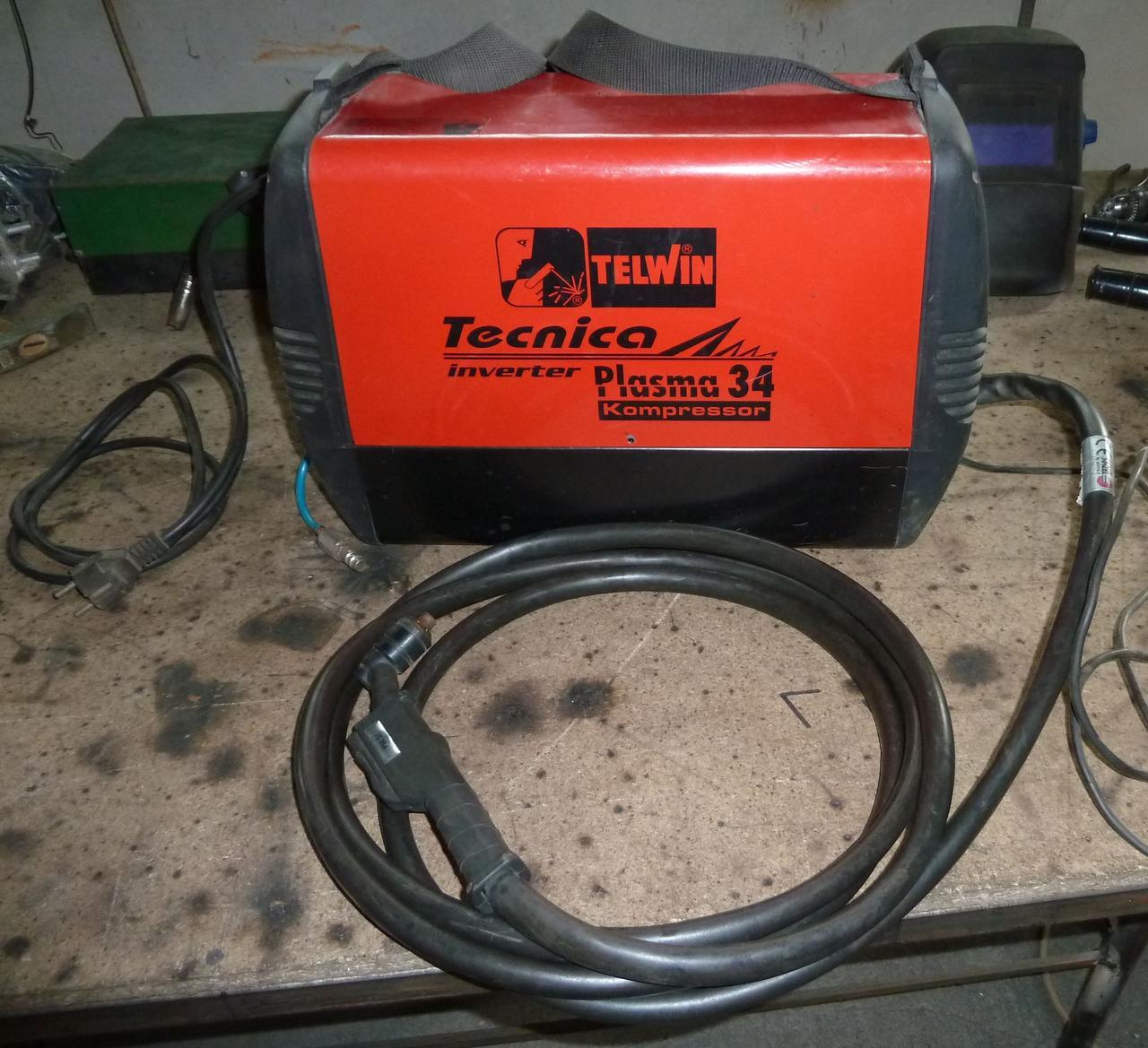 Апарат плазмової різки TECNICA PLASMA 34 TELWIN (Італія)