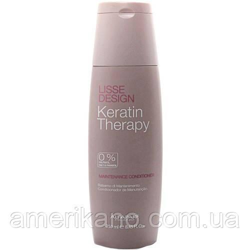 Кератиновый шампунь Alfaparf Keratin Therapy Maintenance Shampoo 200 мл, оригинал Италия.