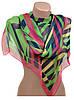 Интересный женский шарф 50 на 160 полиэстер 10122-A3