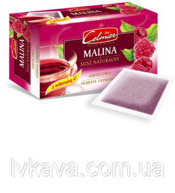 Чай черный Celmar Exspresowa Малина,  20 пак, фото 2