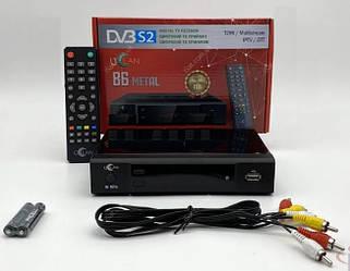 Цифровой ТВ приемник uClan DV3 S2 (U2C) B6 METAL спутниковый ресивер