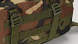 Тактичний похідний рюкзак Military 30 L Камуфляжний мілітарі / T401 ViPvse, фото 4