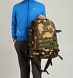 Тактичний похідний рюкзак Military 30 L Камуфляжний мілітарі / T401 ViPvse, фото 5