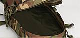 Тактичний похідний рюкзак Military 30 L Камуфляжний мілітарі / T401 ViPvse, фото 6