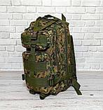 Тактический походный рюкзак Military 25 L Камуфляжный пиксель милитари / T412 ViPvse, фото 7
