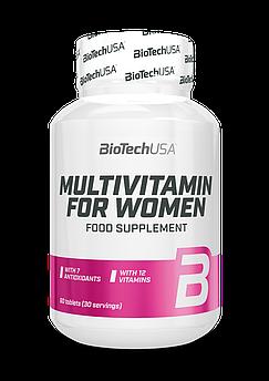 Мультивітамін Вумен / Multivitamin for Women / 60 таблеток