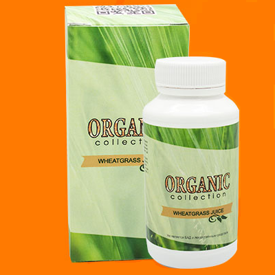 Wheatgrass - витамины для волос от Organic Collection (Витграсс) ViPpils