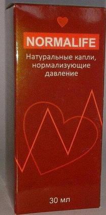 NORMALIFE - Краплі від гіпертонії (Нормалайф) ViPpils