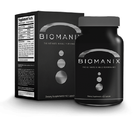 Biomanix капсули для чоловіків Биоманикс ViPpils