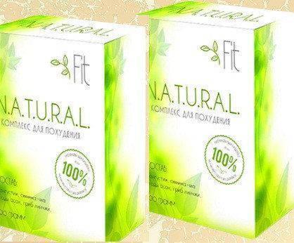 Natural Fit - комплекс для похудения / блокатор калорий (Нейчерал Фит) ViPpils