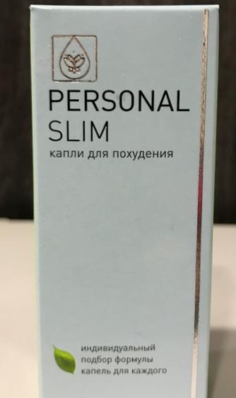 Personal Slim - краплі для схуднення (Персонал Слім) ViPpils