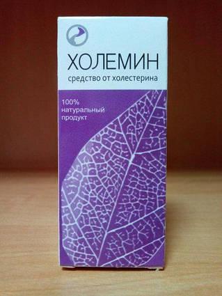 Холемин - Краплі від холестерину ViPpils
