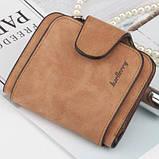 Жіночий гаманець клатч Baellerry Forever Mini балери Коричневий Замша PU ViPvse, фото 2