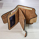 Жіночий гаманець клатч Baellerry Forever Mini балери Коричневий Замша PU ViPvse, фото 7
