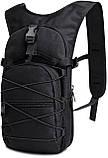 Качественный тактический рюкзак туристический велосипедный Черный ViPvse, фото 4