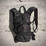 Качественный тактический рюкзак туристический велосипедный Черный ViPvse, фото 8