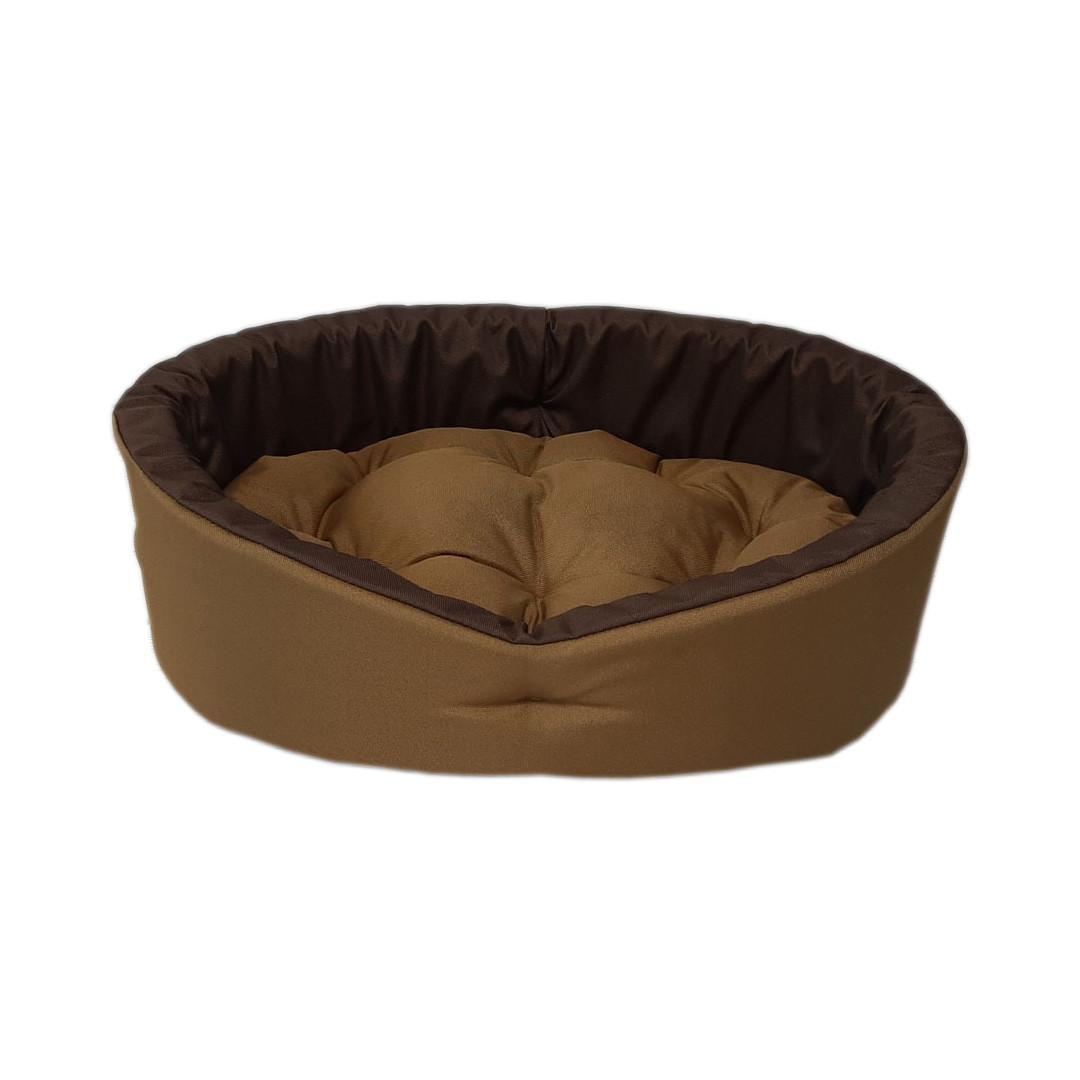 Лежак для собак і кішок Койот + коричневий ViPvse