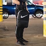 Черный спортивный рюкзак найк сетка Nike Для тренировок учебы ViPvse, фото 3