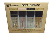 Подарунковий набір з феромонами Dolce Gabbana The One 4x15ml