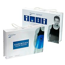 Подарунковий набір Christian POUR HOMME (парфюм100ml+10ml+гель для душу+гель для тіла)