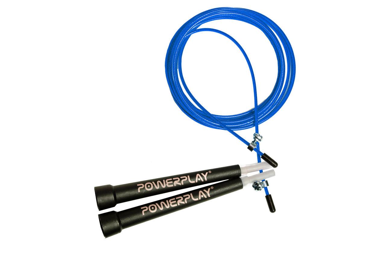Скакалка швидкісна PowerPlay 4202 Синя