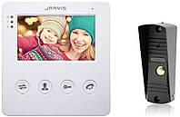 Видеодомофон с записью видео по движению Jarvis JS-4WKit (комплект), фото 1
