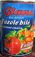Фасоль белая в томате Giana 400 г