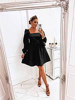 Жіноче плаття з оригінальним вирізом на спині, фото 1