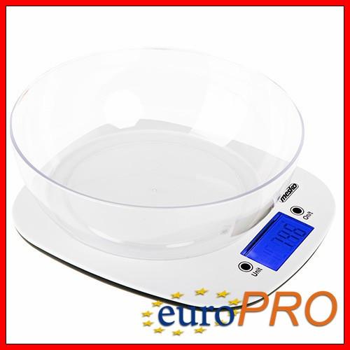 Кухонные весы с чашей Mesko MS 3165
