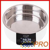 Кухонні ваги з чашею adler AD 3166