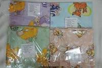 Комплект детского постельного белья 5 в 1 голубой