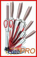 Набор кухонных ножей на подставке Royalty Line RL-KSS804-N, фото 1