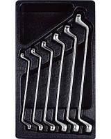 Набор ключей накидных 8-19 мм, 6 предметов T40693 AmPro, фото 1